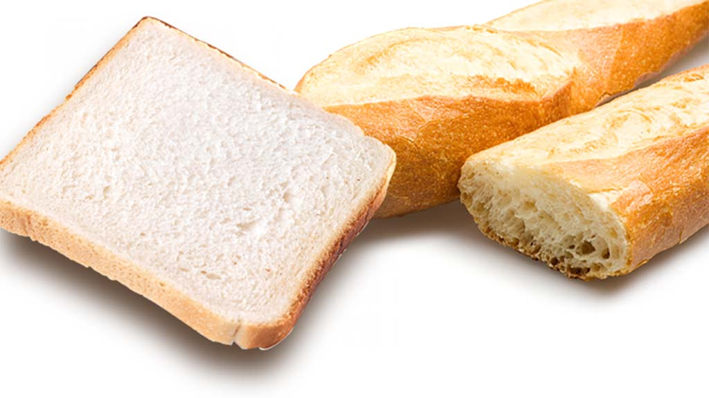 pain de mie pu baguette pour la pêche au pain