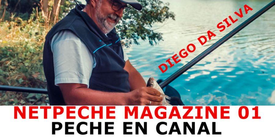 netpeche magazine video pêche au coup en canal avec Diego Da Silva