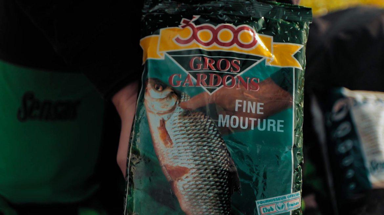 secrets de champions - selections amorce pour la pêche du gardon en étang - amorce sensas 3000 gros gardon fine mouture