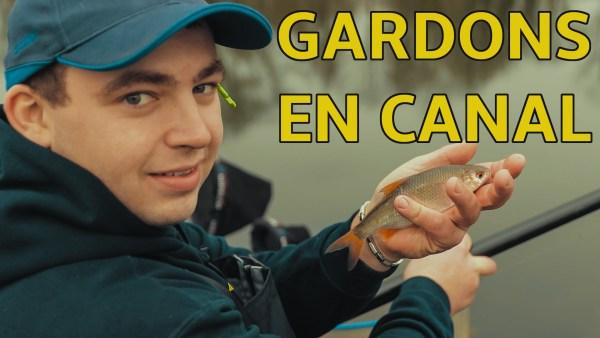 pêche de gardons en canal avec Romain Foiratier