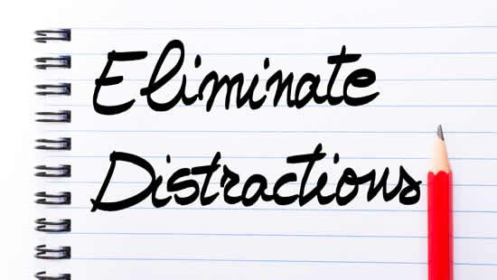 bigstock-Eliminate-Distractions-Written-146514191