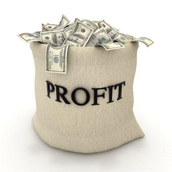 Trading profits