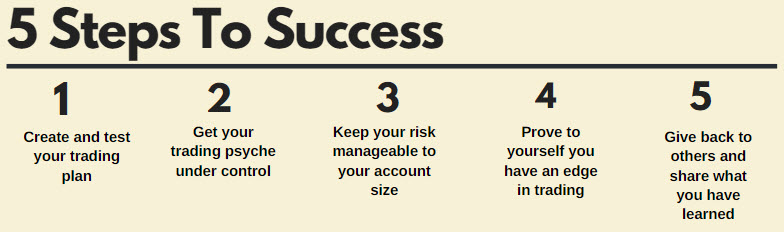 steps to success points