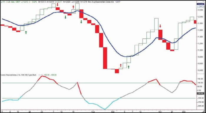 Line Break Chart Indicator Strategy
