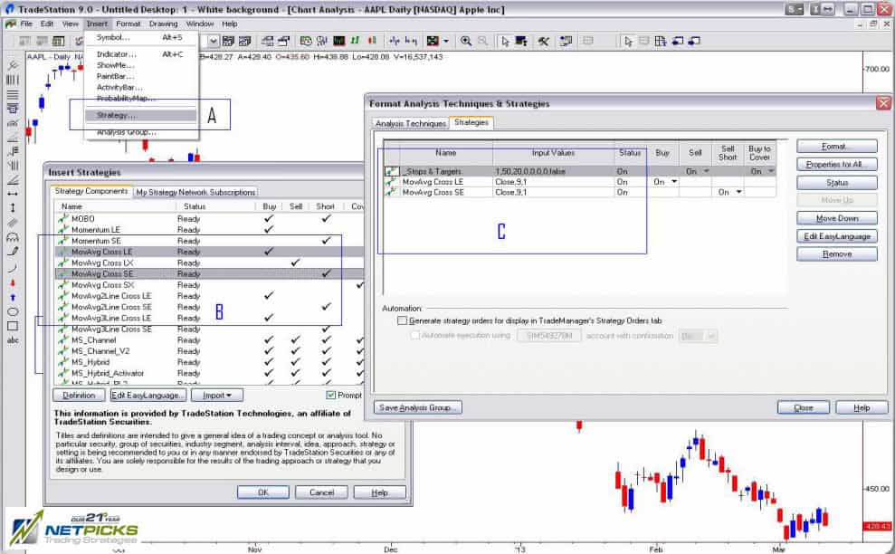 Building Automated Trading System With Tradestation