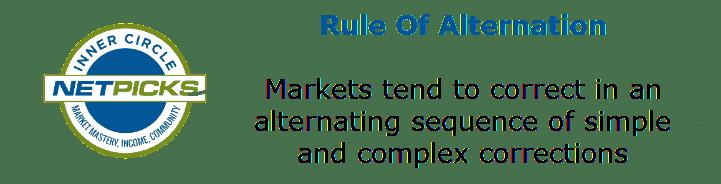 rule of alternation