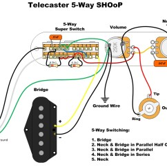Wiring Diagram For A 4 Way Switch Caravan Plug Four Telecaster Free