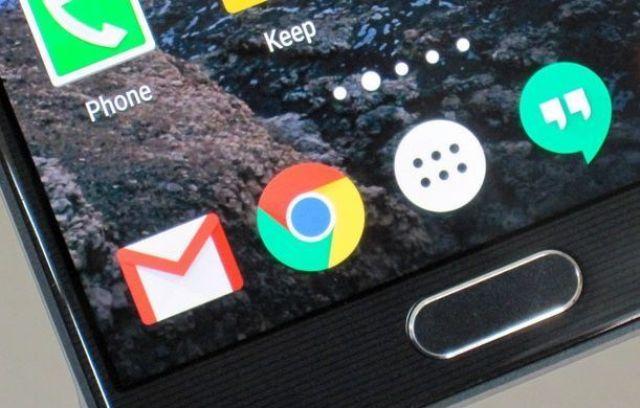 Chrome en Android