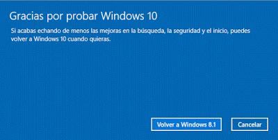 gracias por probar windows 10
