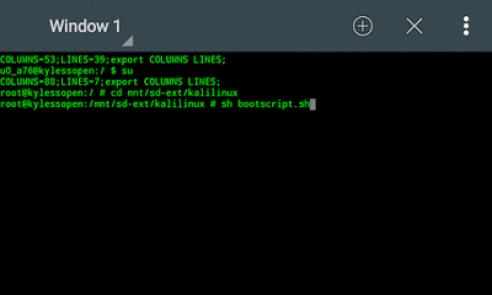 sh bootscript.sh