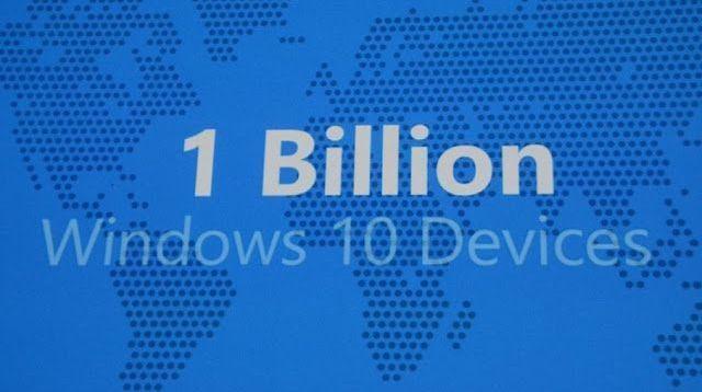 1 billion windows 10 devices