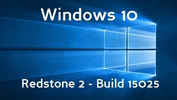Windows 10 build 15025