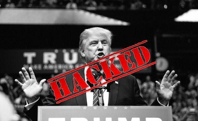 Trump hacked