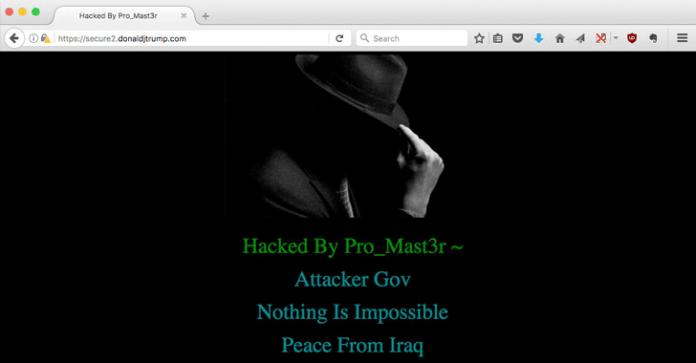 web Trump attacker