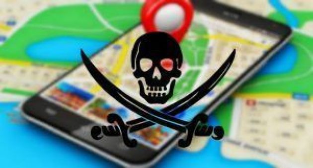 google maps vs piratas