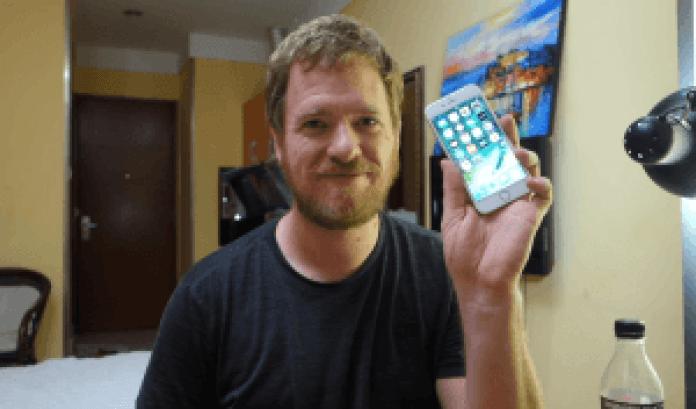Scotty Allen monta un iPhone 6s
