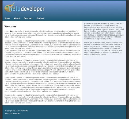 simple webgesign gimp