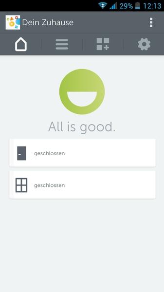 Gigaset Elements App - Home
