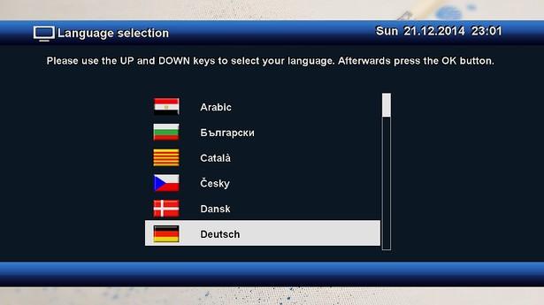 OpenXTA Sprache