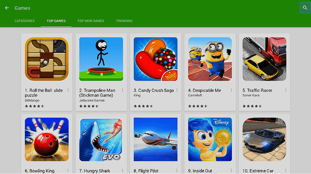 MXV S805 Play Store