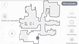 Ecovacs-App-Karte