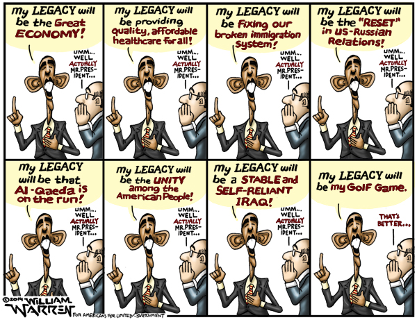 Image result for cartoons obama legacy