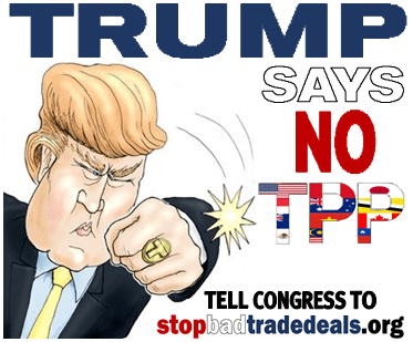 Image result for donald Trump Trans pacific Cartoon