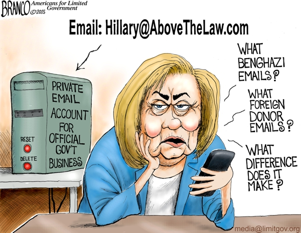 Image result for cartoons branco on comey and emails on clinton