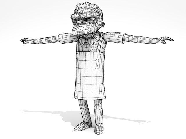 Simpsons collection 1 3D Model in Cartoon 3DExport