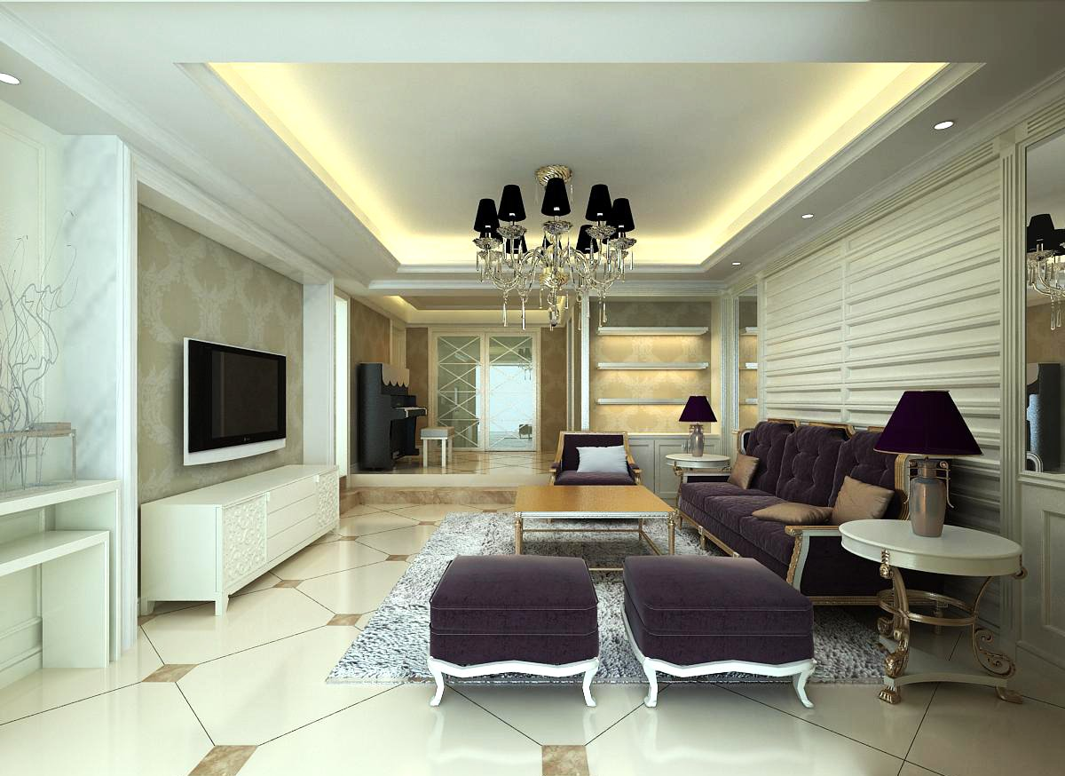 3d Home 718 3d Model In Living Room 3dexport