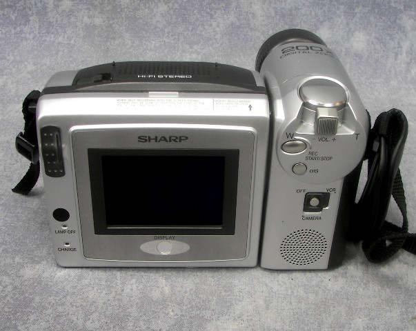 SHARP ViewCam Hi-8 VL-H870U Camcorder W/200x Digital Zoom