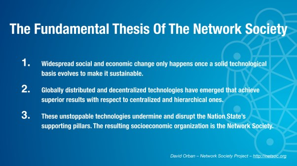 The Fundamental Thesis Of The Network Society
