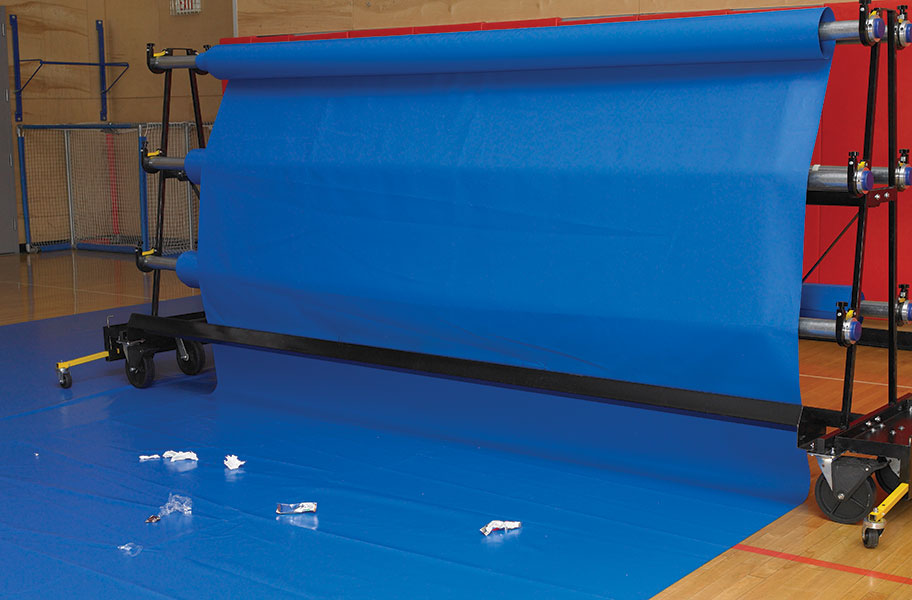 Gym Floor Covers from Nets of America