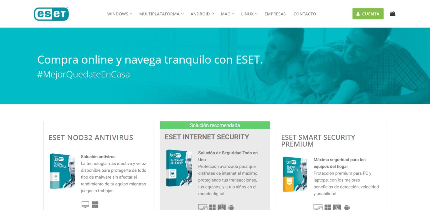 E-commerce ESET