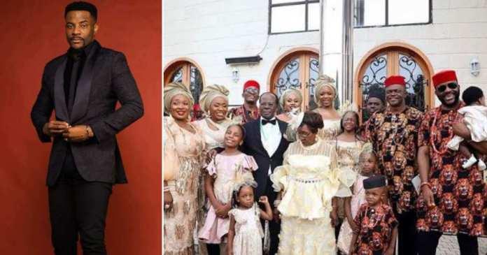Image result for Parents of BBNaija host Ebuka celebrate 50th wedding anniversary, shares family photo