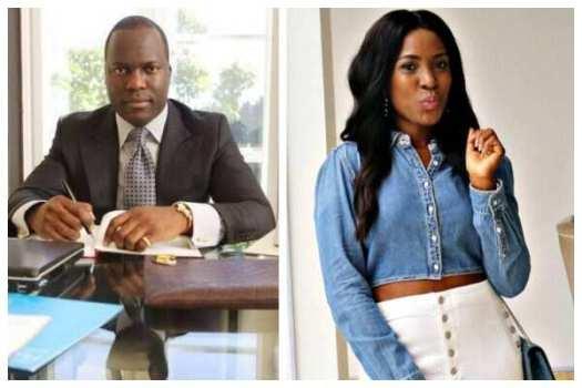 Linda Ikeji and baby daddy