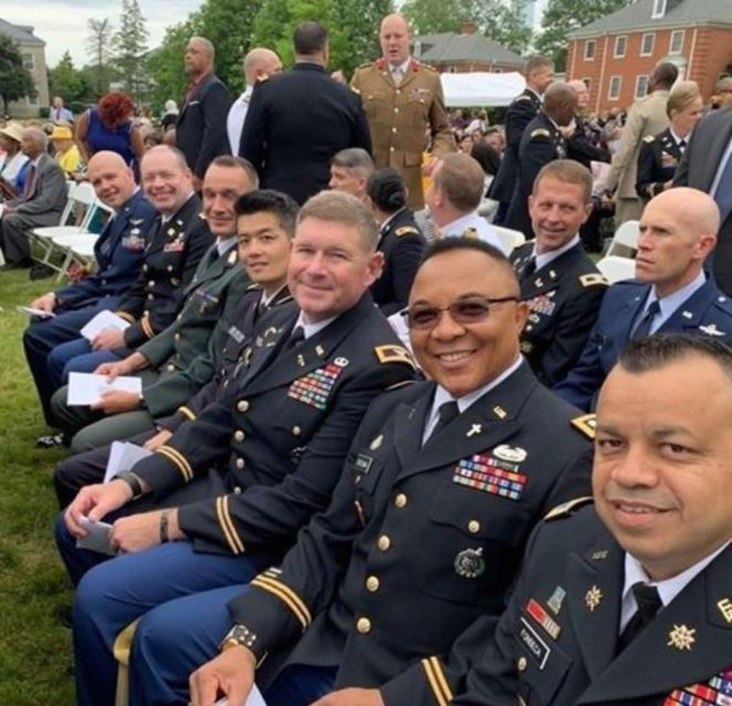 Ike Eweama: Nigerian man who gets promoted to colonel rank in US Army