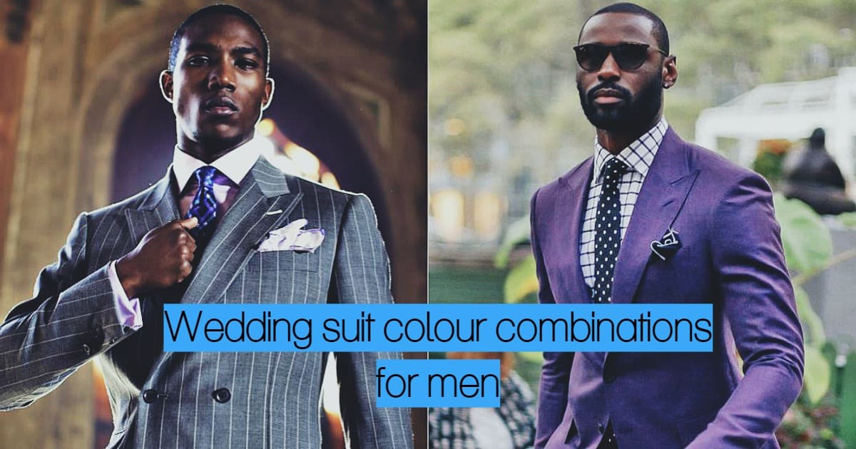 Best Wedding Suit Colour Combinations For Men In 2019