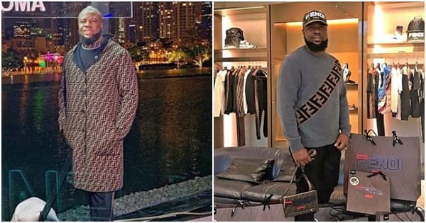 Image result for Hushpuppi Dines With Top Designer Label, Fendi