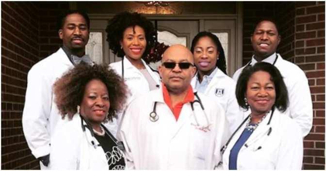 Nigeria: Découvrez la famille où tous les membres sont médecins (photos)
