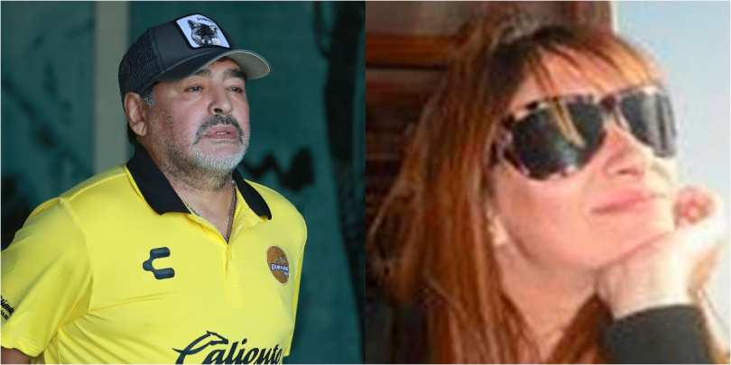 Diego Maradona's ex-lover claims his DNA test for paternity of their son was falsified