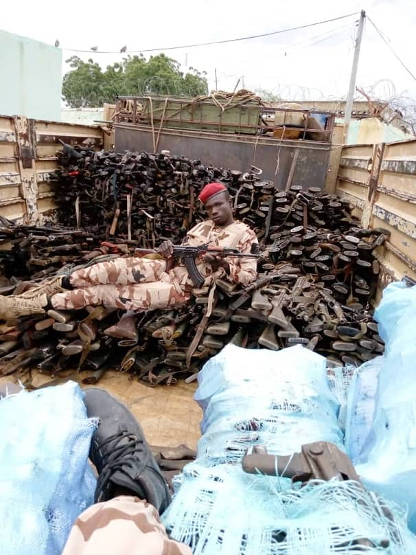 Chadian soldiers capture Boko Haram's arms store in Sambisa forest
