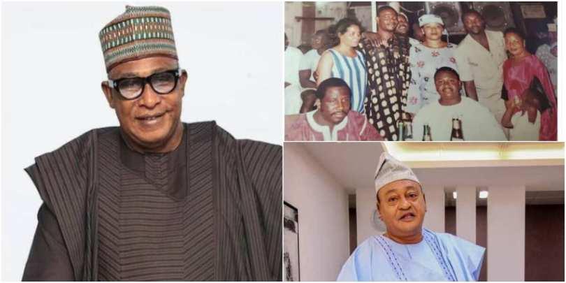 Actor Adebayo Salami Shares Throwback Photo With Jide Kosoko, Others