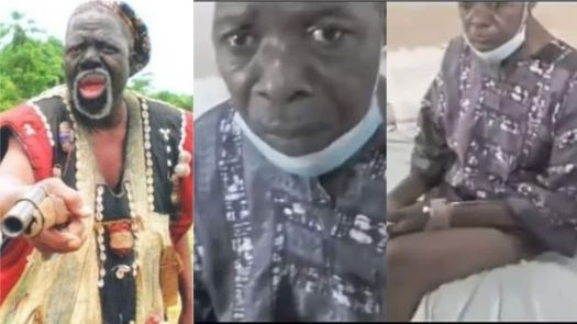 Image result for Veteran Actor, Fadeyi Oloro Critically Ill