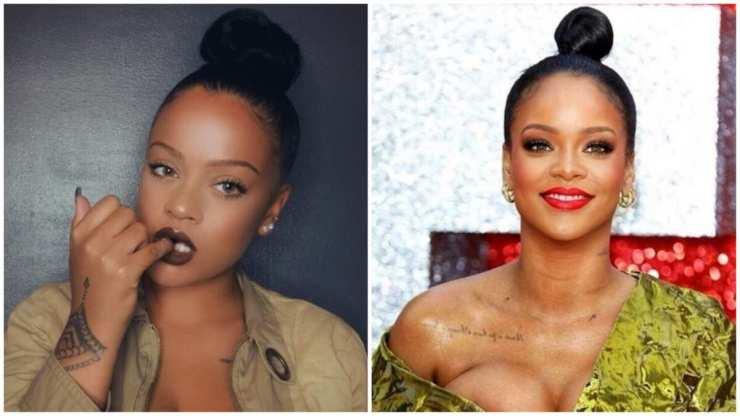 France : Ressemblant à Rihanna, elle n'arrive pas à trouver l'amour (photos)