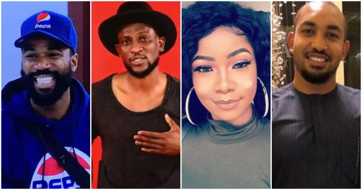 BBNaija 2019: Mike, Tacha, Omashola, and Jeff nominated for possible eviction
