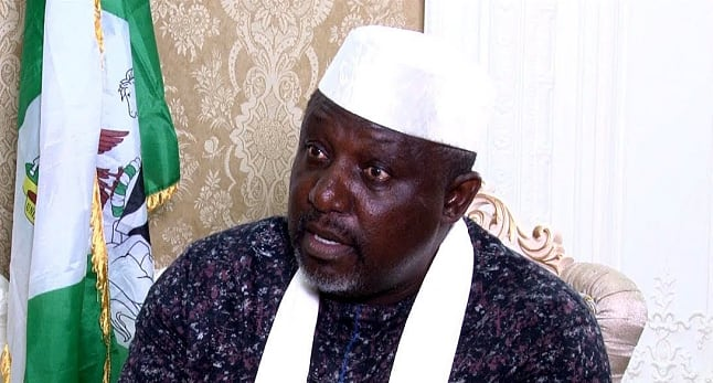 Image result for Nigeria must be declared a nation at war' — Okorocha speaks on killing of soldiers