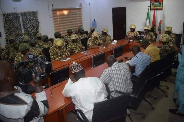 Buratai launches 'Exercise python dance 3' for south east, operation begins January 1