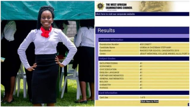 Image result for 16-year-old Nigerian girl emerges youngest best WAEC candidate