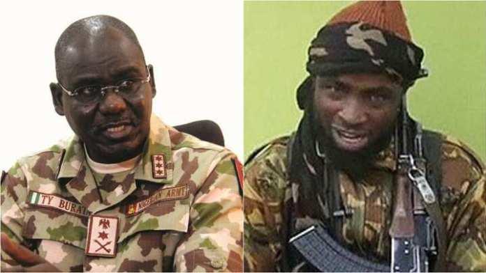 Boko Haram confronts Buratai with mortar gun attacks in Borno camp